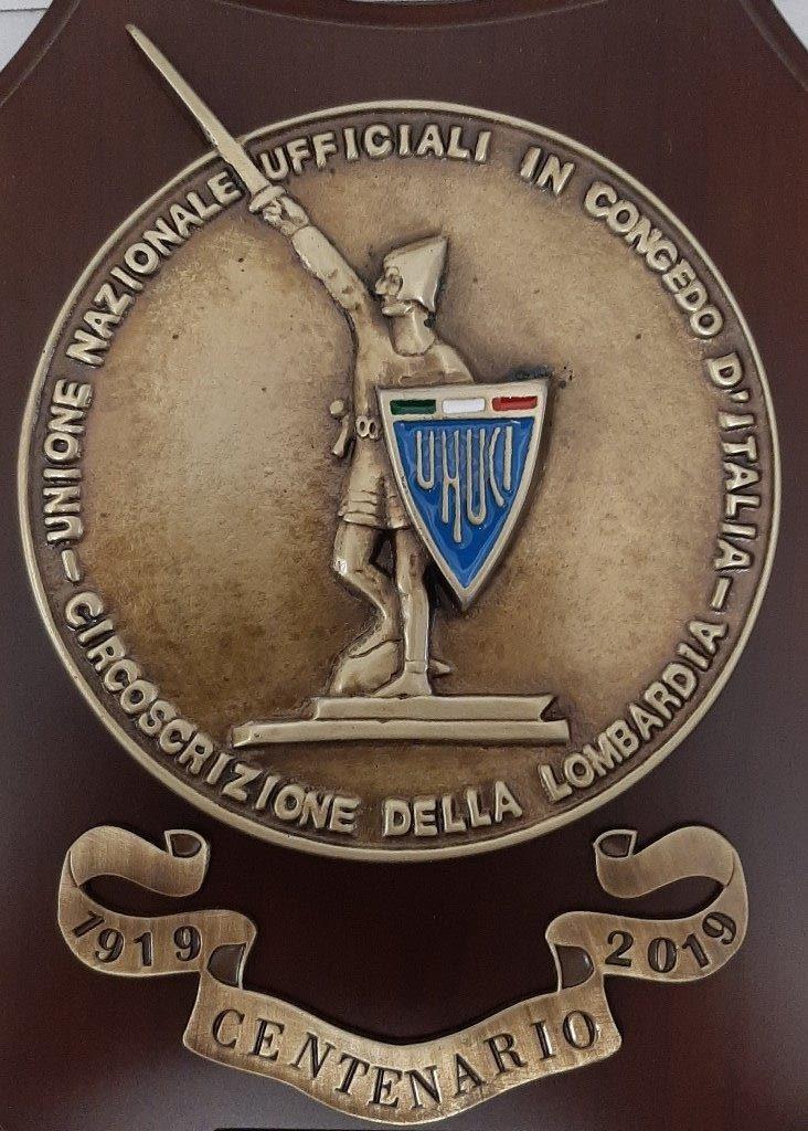 Centenario Unione Lombarda Ufficiali in congedo 1919-2019
